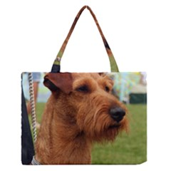 Irish Terrier Medium Zipper Tote Bag