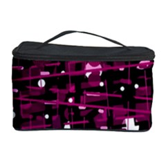 Magenta abstract art Cosmetic Storage Case