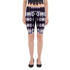 A Touch Of Japan Yoga Cropped Leggings