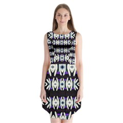 A Touch Of Japan Sleeveless Chiffon Dress