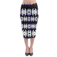 A Touch Of Japan Midi Pencil Skirt