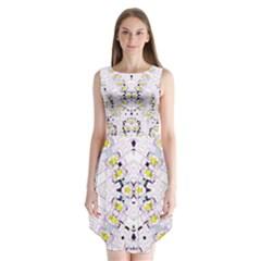 KRATOM FOU  Sleeveless Chiffon Dress