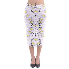 Kratom Fou  Midi Pencil Skirt
