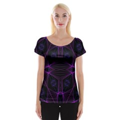 Universe Star Women s Cap Sleeve Top