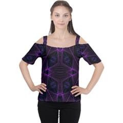Universe Star Women s Cutout Shoulder Tee