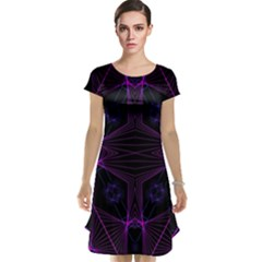 Universe Star Cap Sleeve Nightdress