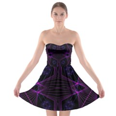 Universe Star Strapless Bra Top Dress