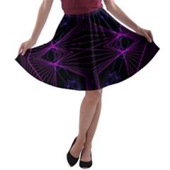 Universe Star A Line Skater Skirt