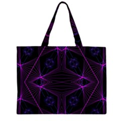 Universe Star Zipper Large Tote Bag