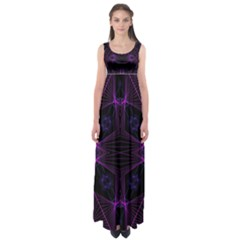 Universe Star Empire Waist Maxi Dress