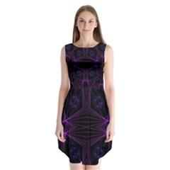 Universe Star Sleeveless Chiffon Dress