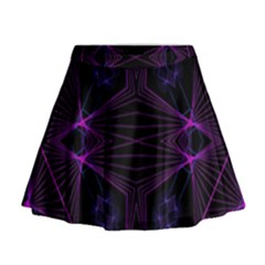 Universe Star Mini Flare Skirt