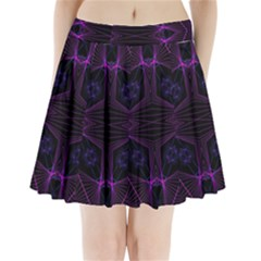 Universe Star Pleated Mini Skirt