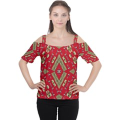 Imagesf4rf4ol (2)ukj Women s Cutout Shoulder Tee