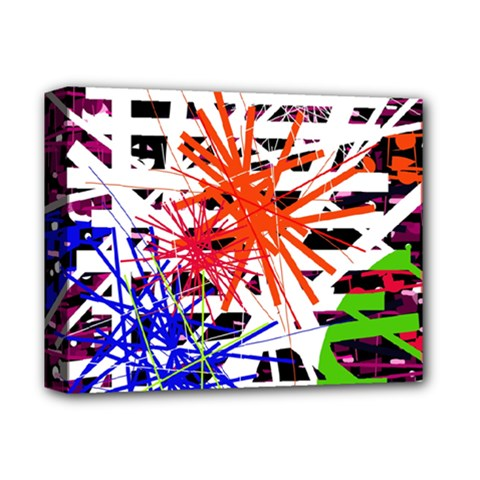 Colorful big bang Deluxe Canvas 14  x 11