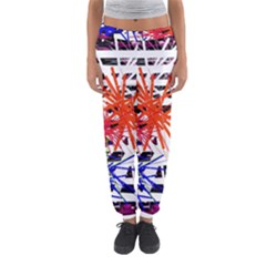 Colorful Big Bang Women s Jogger Sweatpants