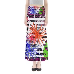 Colorful big bang Maxi Skirts