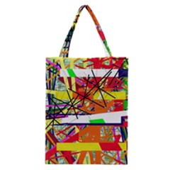 Colorful abstraction by Moma Classic Tote Bag