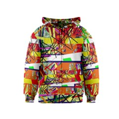 Colorful abstraction by Moma Kids  Zipper Hoodie