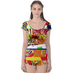 Colorful abstraction by Moma Boyleg Leotard