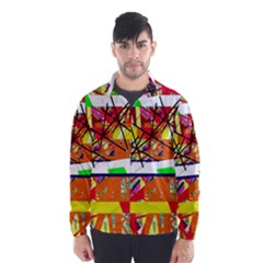Colorful abstraction by Moma Wind Breaker (Men)