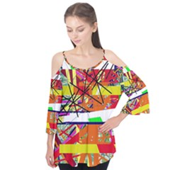 Colorful abstraction by Moma Flutter Tees
