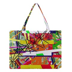 Colorful Abstraction By Moma Medium Tote Bag