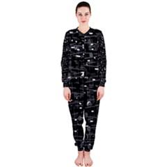 Simple gray OnePiece Jumpsuit (Ladies)