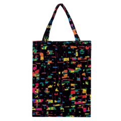 Playful colorful design Classic Tote Bag