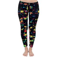 Playful colorful design Winter Leggings