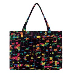 Playful colorful design Medium Tote Bag