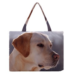 3 Labrador Retriever Medium Zipper Tote Bag