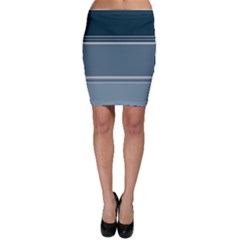 Shades Of Blue Bodycon Skirt