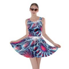 Creative Abstract Skater Dress