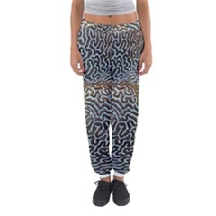 Coral Pattern Women s Jogger Sweatpants
