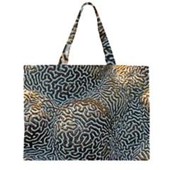Coral Pattern Large Tote Bag