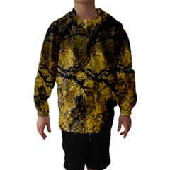 Colorful The Beautiful Of Traditional Art Indonesian Batik Pattern Hooded Wind Breaker (Kids)
