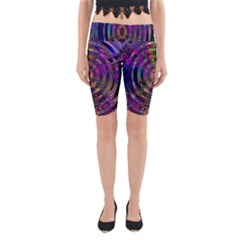 Color In The Round Yoga Cropped Leggings