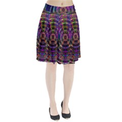 Color In The Round Pleated Skirt