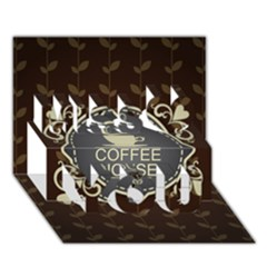 Coffee House Miss You 3D Greeting Card (7x5)