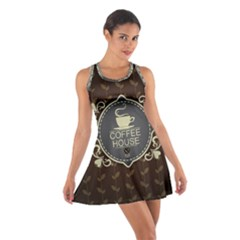 Coffee House Cotton Racerback Dress