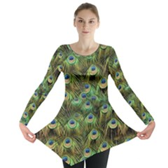 Peacocks Are The Best Long Sleeve Tunic