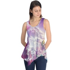 Clouds Multicolor Fantasy Art Skies Sleeveless Tunic