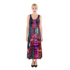 City Photography And Art Sleeveless Maxi Dress