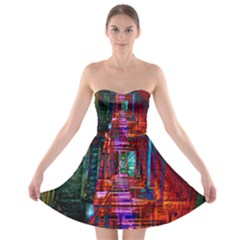 City Photography And Art Strapless Bra Top Dress