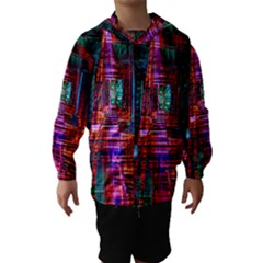 City Photography And Art Hooded Wind Breaker (Kids)