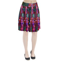 City Photography And Art Pleated Skirt