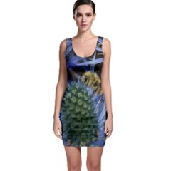 Chihuly Garden Bumble Sleeveless Bodycon Dress