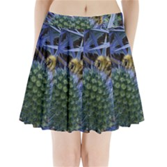 Chihuly Garden Bumble Pleated Mini Skirt