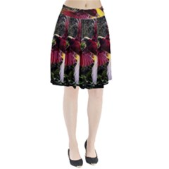 Cendrawasih Beautiful Bird Of Paradise Pleated Skirt